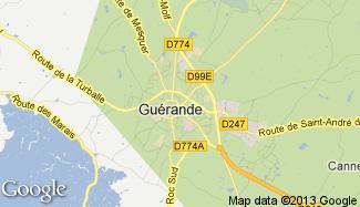 Plan de Guérande
