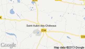 Plan de Saint-Aubin-des-Châteaux