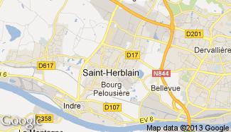 Plan de Saint-Herblain