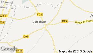 Plan de Andonville