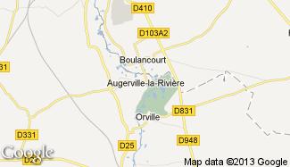 Plan de Augerville-la-Rivière