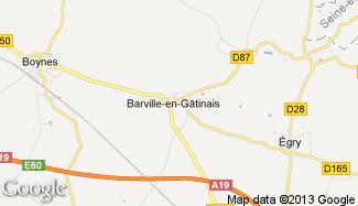 Plan de Barville-en-Gâtinais