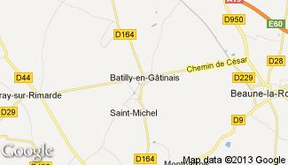 Plan de Batilly-en-Gâtinais