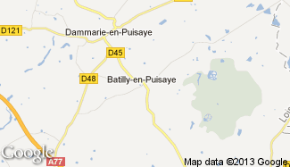 Plan de Batilly-en-Puisaye