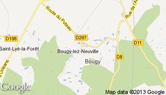 Plan de Bougy-lez-Neuville
