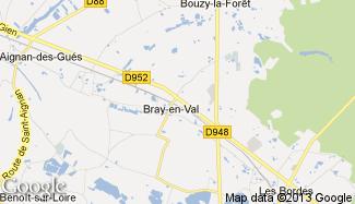 Plan de Bray-en-Val