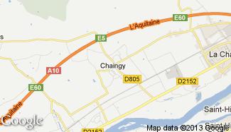 Plan de Chaingy