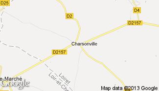 Plan de Charsonville