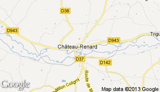 Plan de Château-Renard