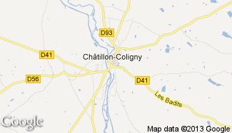 Plan de Châtillon-Coligny