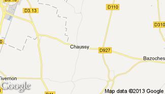 Plan de Chaussy