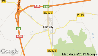 Plan de Chevilly