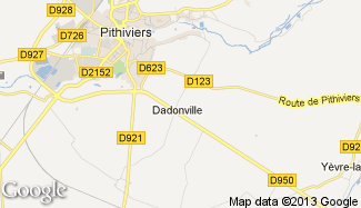 Plan de Dadonville