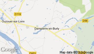 Plan de Dampierre-en-Burly