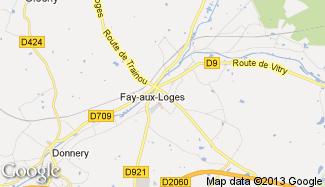 Plan de Fay-aux-Loges