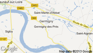 Plan de Germigny-des-Prés
