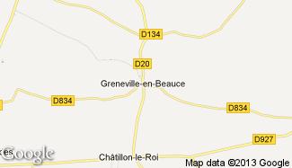 Plan de Greneville-en-Beauce