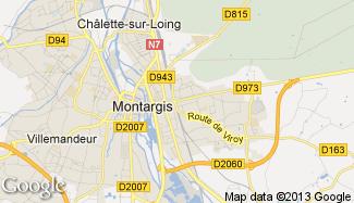 Plan de Montargis