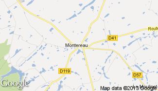 Plan de Montereau