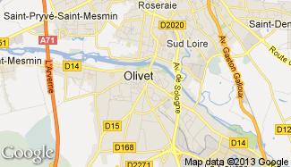 Plan de Olivet