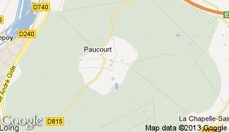 Plan de Paucourt