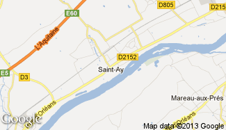 Plan de Saint-Ay