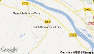 Plan de Saint-Brisson-sur-Loire