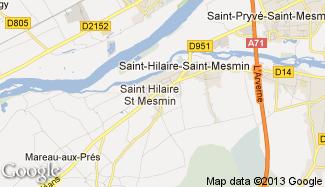 Plan de Saint-Hilaire-Saint-Mesmin