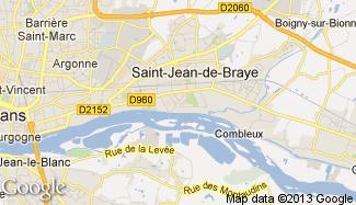 Plan de Saint-Jean-de-Braye