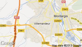 Plan de Villemandeur