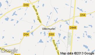 Plan de Villemurlin