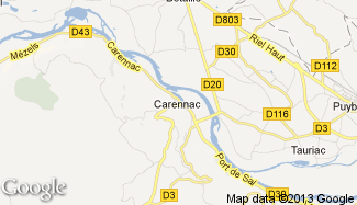Plan de Carennac