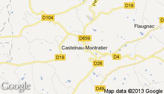 Plan de Castelnau-Montratier