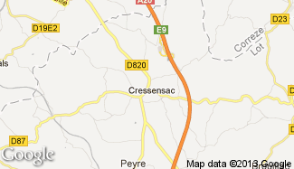 Plan de Cressensac
