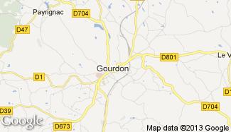 Plan de Gourdon
