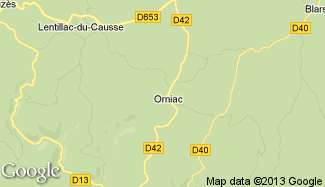 Plan de Orniac