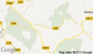 Plan de Saint-Caprais