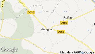 Plan de Antagnac