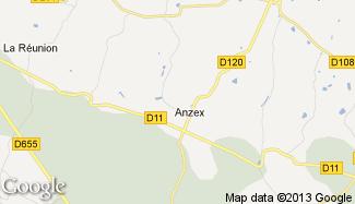 Plan de Anzex