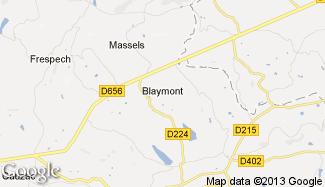 Plan de Blaymont
