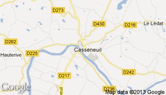 Plan de Casseneuil