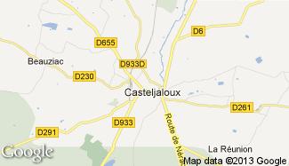 Plan de Casteljaloux