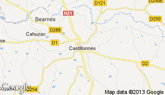 Plan de Castillonnès