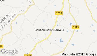 Plan de Caubon-Saint-Sauveur