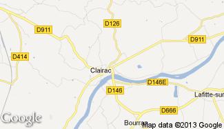 Plan de Clairac