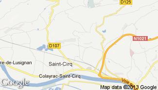Plan de Colayrac-Saint-Cirq