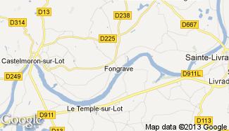 Plan de Fongrave
