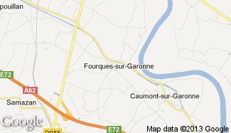 Plan de Fourques-sur-Garonne