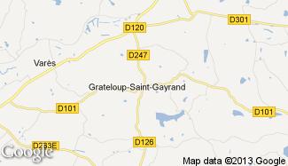 Plan de Grateloup-Saint-Gayrand