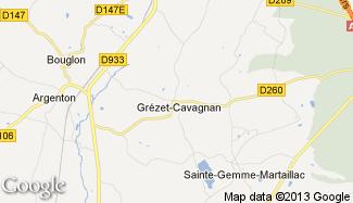 Plan de Grézet-Cavagnan